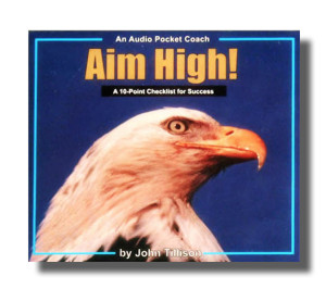 Audio CD Cover - Aim High (Drop Shadow) FF