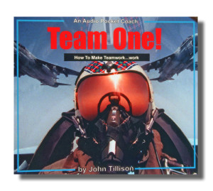 Audio CD Cover - Team One (Drop Shadow) FF